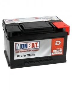 Monbat D  77Ah 730A (R+)